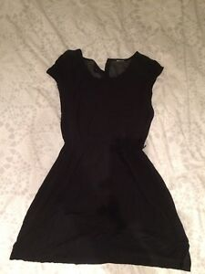 H&M black dress small