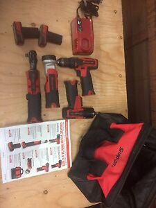 Snap on cordless tools