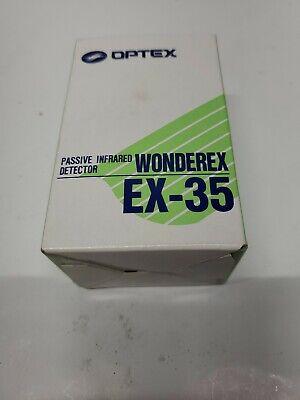 New - Optex Wonderex Passive Infrared Detector Ex-35