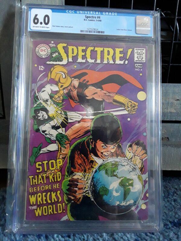 The Spectre #4. 5-6/ 1968.   CGC 6.0
