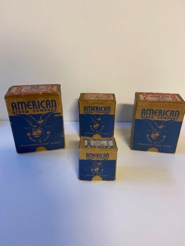 """Vintage """"American Brand"""" Screws; NOS Unused; 4 Boxes; 1960's Lot # 2"""