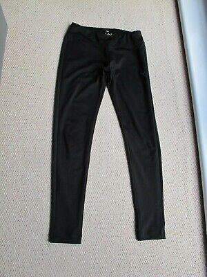 Ladies Puma Dry Cell Black Full Length Running / Sport Leggings UK 12