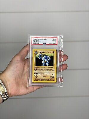 PSA 9 1st Edition Non-Holo Machoke Base Set Pokemon Card 34/102 Shadowless