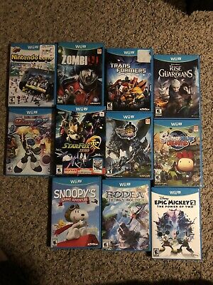 Wii U Game Bundle | 11 Game Lot