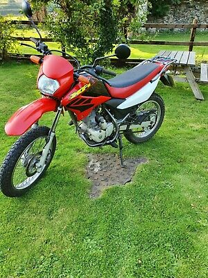 HONDA XR 125 L4 125CC OFF ROAD GREEN LANE MOTORCYCLE MOTORBIKE