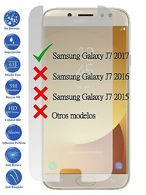 Protector de Pantalla Cristal Templado Vidrio para Samsung Galaxy J7 2017 J730