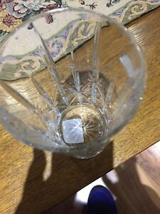 Marquis set of 4 crystal glasses