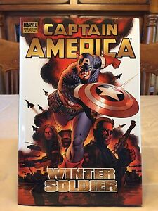 Captain America: Winter Soldier - Hard Cover Graphic Novel