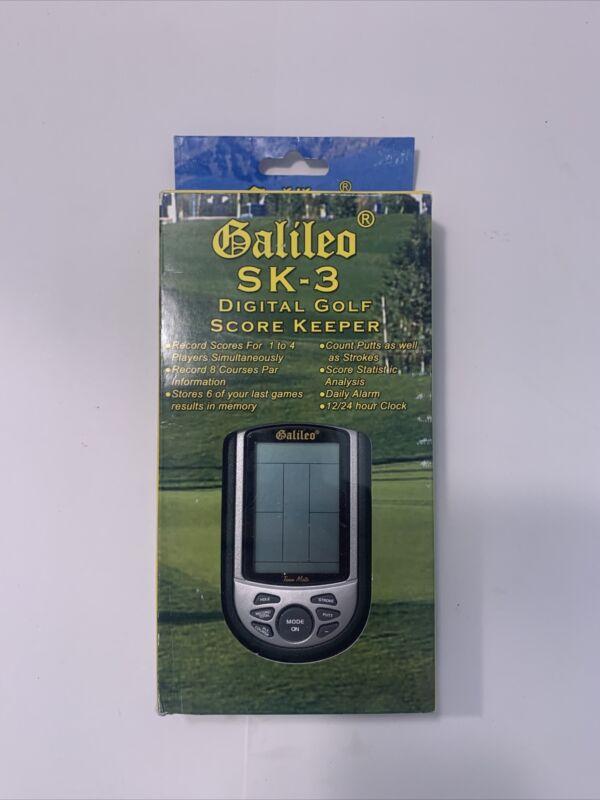 Galileo SK-3 Digital Golf Score Keeper