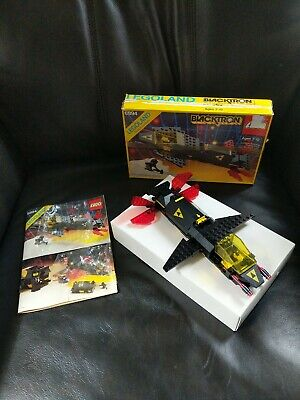 Vintage LEGO 6894 BLACKTRON Invader Space Complete w/ Instructions Box
