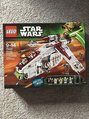 LEGO 75021 Star Wars Republic Gunship. Sealed!