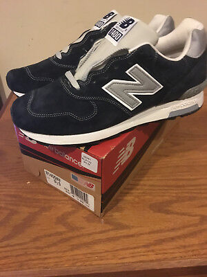 New Balance J Crew 1400 NV Navy Blue Size 9.5 Made In USA New