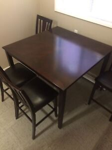 Table and 4 chair set