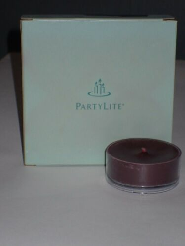 PartyLite Lot of 4 Large Tealight Candles ~Mulberry~