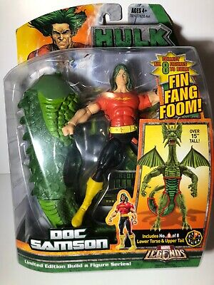 "MARVEL LEGENDS DOC SAMSON 6"" action figure Build FIN FANG FOOM"