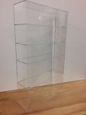 Ds-acrylic Lucite Countertop Display Case Showcase Box Cabinet 14 X 4 14 X 24h