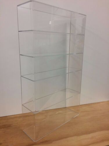 """DS-Acrylic Lucite Countertop Display Case ShowCase Box Cabinet 14 x 4 1/4 x 24""""h"""