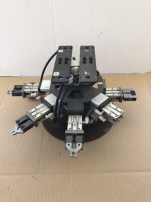 Robot Arm Pneumatic Air Grippers As Used By Smc Mhz2-16d Stock 1