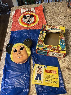 Vintage Ben Cooper Mouseketeer Halloween Costume