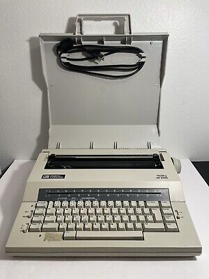 Smith Corona Xe 5100 Electric Portable Smart Spell Right Typewriter Tested Works