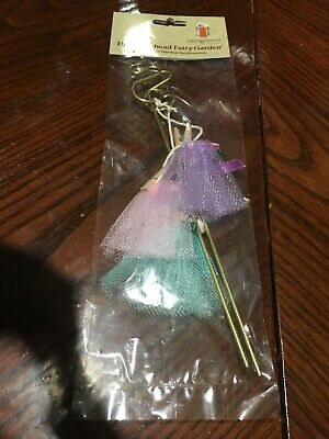 Miniature Dollhouse FAIRY GARDEN Doll Clothes Line Princess Ballerina Adorable  (Fairy Cloths)