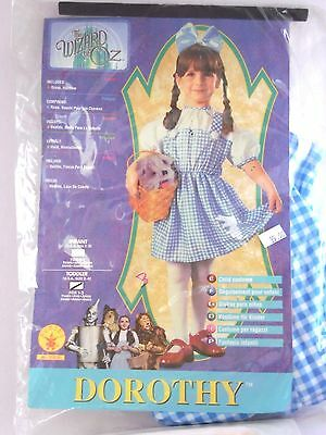 Toddler Child Girl 2-4 Dorothy Wizard of OZ Halloween Party Costume Decoration