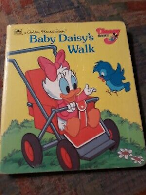 A Golden Book Disney babies: Baby Daisy's walk 1986 Baby Daisys Walk