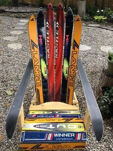 Unique chair made with skis