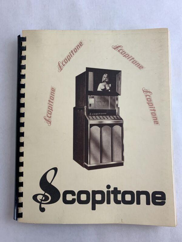 Scopitone Jukebox Service Maintenance Troubleshooting Manual
