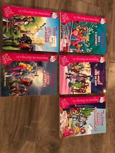 Collection de 5 livres Léa Stilton