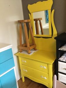Yellow small dresser - 1 available