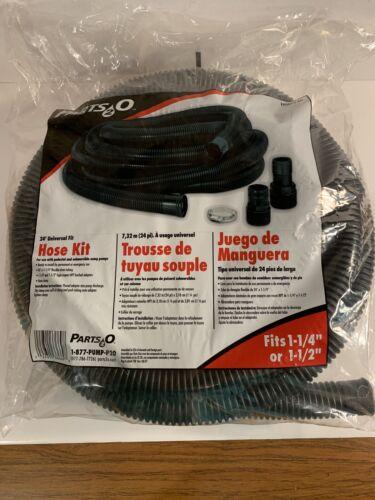 universal sump pump discharge hose kit 24