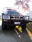 For Sale Nissan Patrol 4x4 with telstra enclosed aliminum back . Lowood Somerset Area Preview