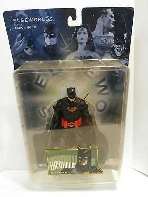 "DC Direct Elseworlds Series 2 Batman Gotham By Gaslight 7"" Action Figure New"