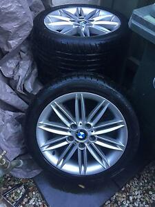 "4x BMW Style 207 - 17"" inch M-Sport Rims with Hancook Tyres Richmond Yarra Area Preview"