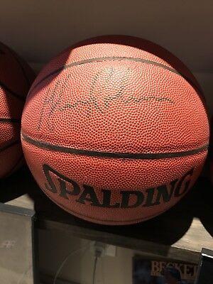 Glenn Robinson Autographed Full Size Basketball COA (Robinson Autographed Basketball)