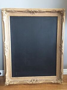 Chalkboard vintage frame wedding event home decor