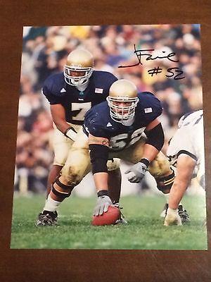 Jeff Faine Signed Notre Dame 8x10 Photograph ae27c3bae
