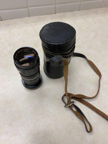 Vintage Taika Color Doryt Lens W/Case