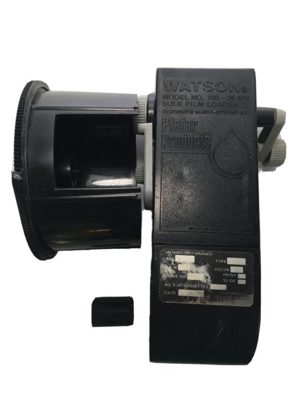 Pfaff Products Watson Model 100 35mm Bulk Film Loader