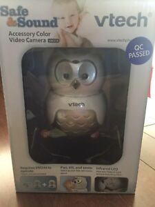 Vtech safe and sound accessory camera for baby monitor