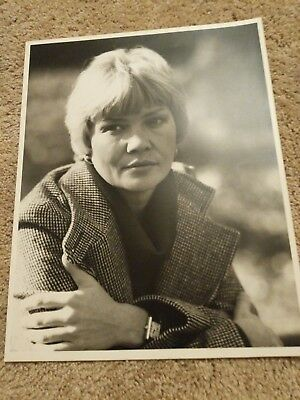 Black And White 11x14 Photograph Vintage Unknown Photographer Lady 1970's Woman