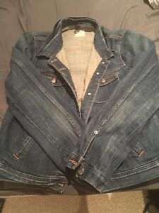 Jcrew perfect condition jean jacket size large