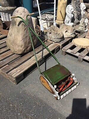 vintage push lawn mower With Roller