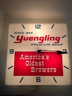 Vintage Yuengling Beer Wall Clock
