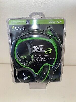 NEW * Turtle Beach Ear Force XLA XBox 360 Amplified Stereo Sound Gaming Headset