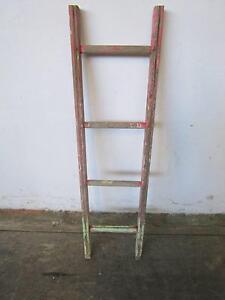 D8089 Rustic Pink Timber Industrial Kitchen Pot Hanger Ladder Mount Barker Mount Barker Area Preview