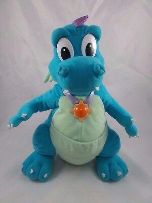 """Playskool Dragon Tales Ord Plush Talking Light-up 12"""" 1999"""