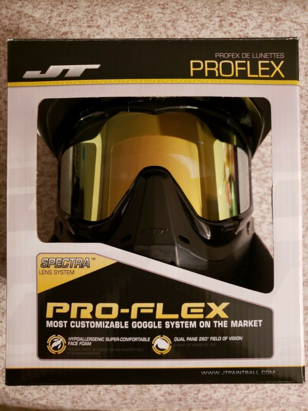 Jt proflex paintball mask w/ jt 2 way fan