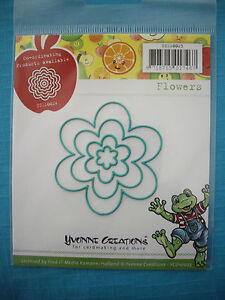Yvonne Creations *Flowers* Die Set - Compatible with Cuttlebug & Sizzix